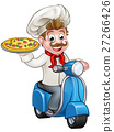 chef, pizza, delivery 27266426