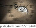 Broken Pocket Watch in the Sand 27267448