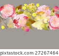 Greeting card with flowers 27267464