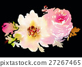 Flowers watercolor illustration 27267465