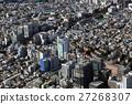 아오야마 오모테 산도 부근을 공중 촬영 27268307