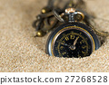 Small Pocket watch in the Sand 27268528