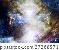 Cosmic space and stars, color cosmic abstract 27268571