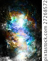 Cosmic space and stars, color cosmic abstract 27268572