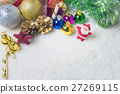 Christmas decorations background 27269115