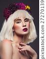 girl flower portrait 27270139