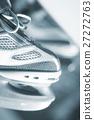 Ice skates in skate store 27272763