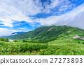 plateau, summer clouds, clouds 27273893