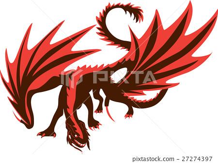 Dragon vector illustration 27274397