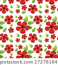 無縫的 花朵 花 27276164