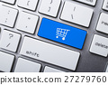 Shopping Cart Symbol On The Keyboard 27279760