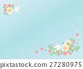 배경 자료, 모양, 꽃 27280975