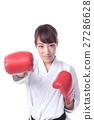 권투를하는 여자 27286628