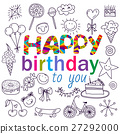 Poster for the birthday greetings. 27292000