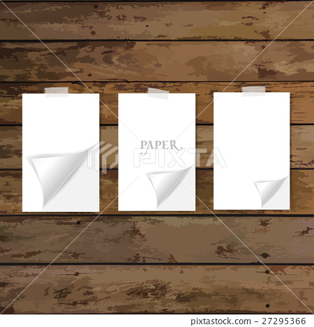 Paper Corner Folds. Vector illustration 27295366