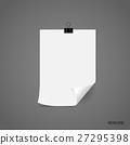 Paper Corner Folds. Vector illustration 27295398