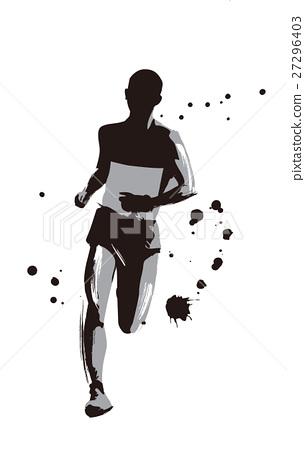 Marathon runner 27296403