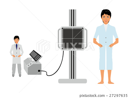 Patients receiving X-ray 27297635