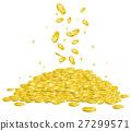 동전, 코인, 강조 27299571