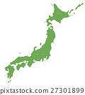 일본지도 27301899