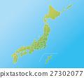 日本地图 都道府县 日本 27302077