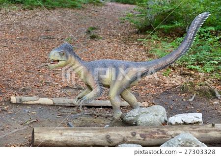 Model of a dinosaur in Dino Parc in Rasnov 27303328
