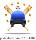 Baseball and Softball symbol 27304802