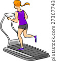 Girl Treadmill 27307743