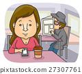 Girl Cafe Stalked 27307761