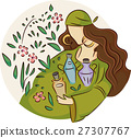Girl Gypsy Wild Plants Potions 27307767