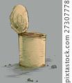 Empty Tin Can Poverty Symbol 27307778