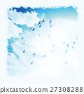 하늘 비둘기 27308288