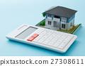 계산기, 집, 주택 담보 대출 27308611