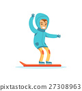 Boy Snowboarding, Traditional Male Kid Role 27308963