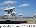 Huge antenna dish at Very Large Array 27314038