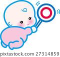 아기, 벡터, 원 27314859