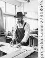 Carpenter Craftsman Handicraft Wooden Workshop Concept 27318645