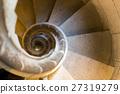 narrow stone spiral stairway 27319279