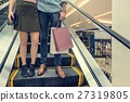 Couple Together Shopping Customer Concept 27319805