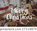 Merry Christmas Santa Claus Happy Concept 27319874