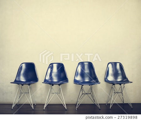 Chair Furniture Indoor Space Urban Vacant Concept 27319898