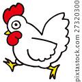 A chicken 27320300