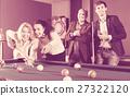 People playing billiard 27322120