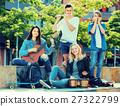 teenagers, music, playing 27322799