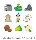 okayama, special product, vector 27326416