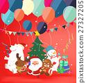 Group of christmas character for christmas. 27327205