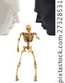 Skeleton bone standing action, human behavior 27328531
