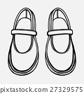 ballet shoes sketch 27329575