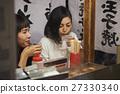 Nakushu stalls Women enjoying food 27330340