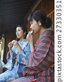 dazaifu tenmangu shrine, japanese clothes, wagashi 27330351